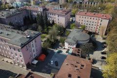 Uniwersytecki Szpital Kliniczny im. Norberta Barlickiego - z lotu ptaka