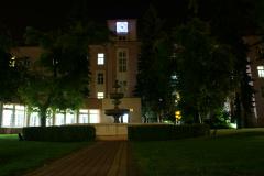 Uniwersytecki Szpital Kliniczny im. Norberta Barlickiego - nocą